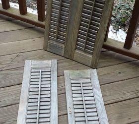 repurposed shutter box planters container gardening diy