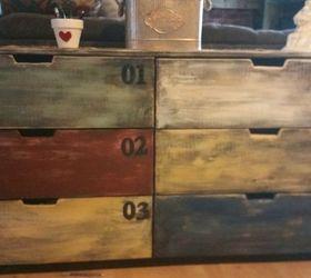 Ikea Faux Credenza : Ikea upgrade besta cabinets plus wood veneer makes a diy mid