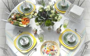 Spring, Easter Tablescape With Source List