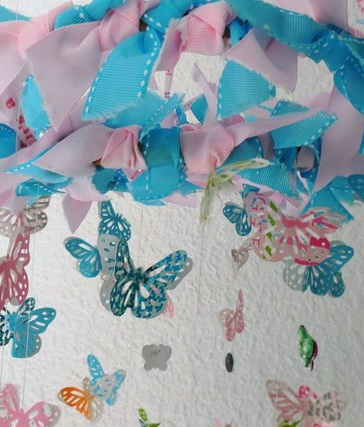 Baby Shower Gift Wrap Paper And Ribbon Butterflymobile Hometalk