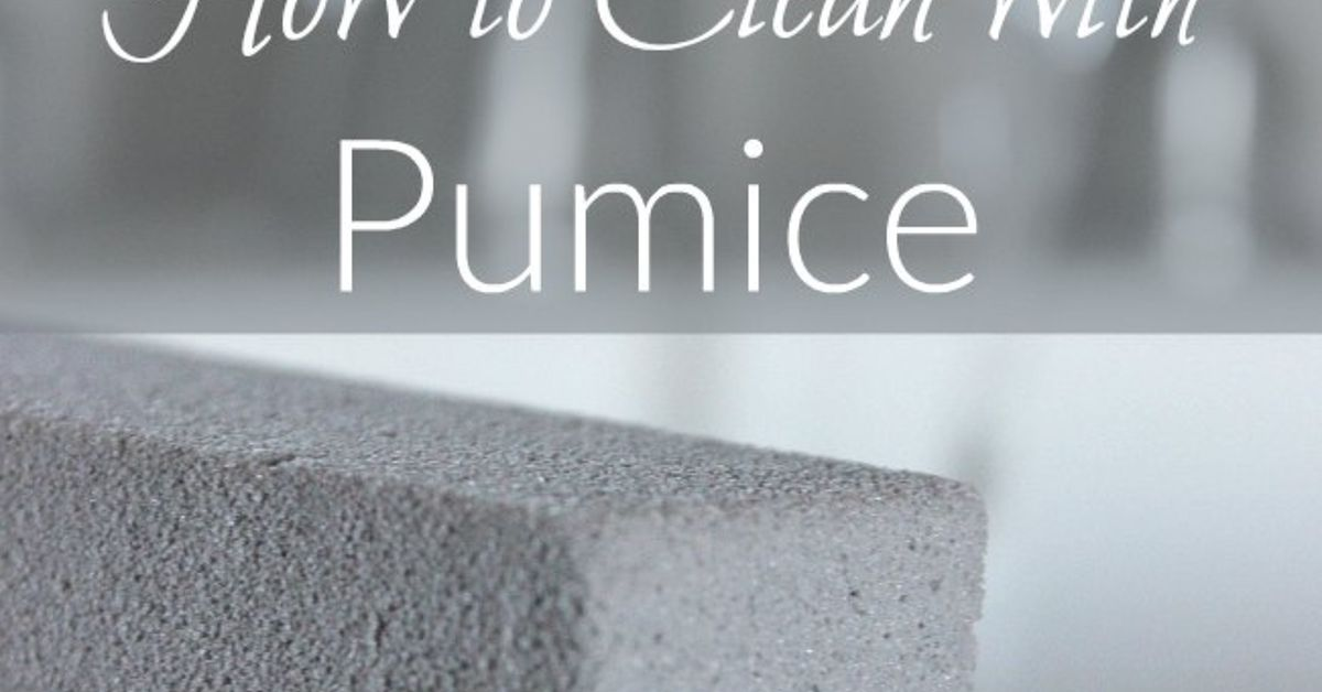 How To Clean With Pumice Hometalk