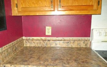 how to paint your countertops, countertops, how to, kitchen design, painting