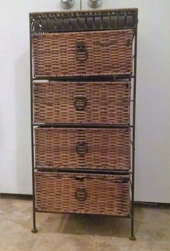 turned these unwanted wicker drawers into pantry baskets and shoe rac, closet, organizing, repurposing upcycling
