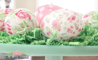 4 easy diy easter egg crafts, crafts, easter decorations, seasonal holiday decor