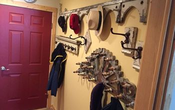 Turning a Dull Mudroom Into a Bit of Victorian Whimsey