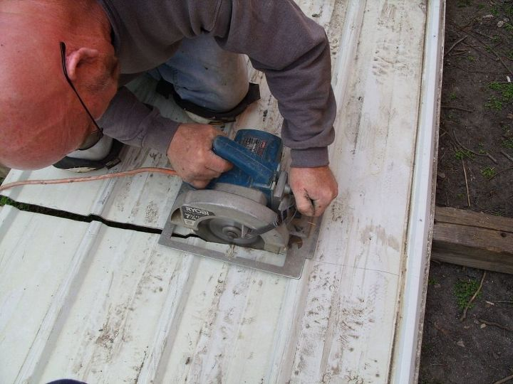 Skirting a Mobile Home | Hometalk