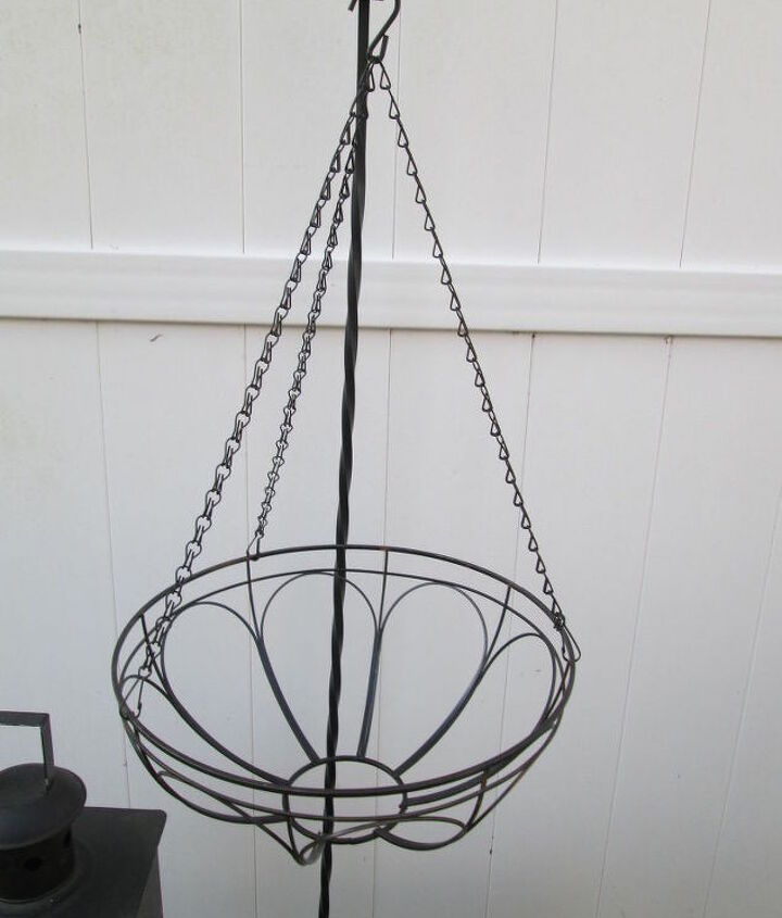 potted hanging wind chime, container gardening, crafts, gardening, outdoor living, repurposing upcycling