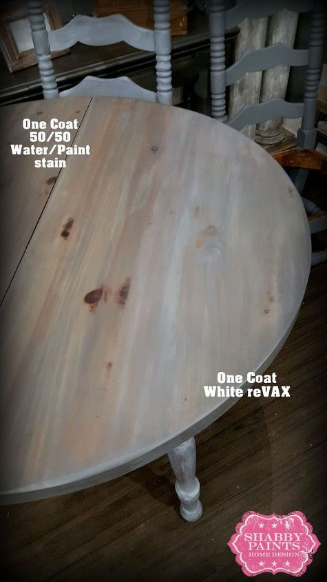 staining wood with paint, painted furniture, shabby chic