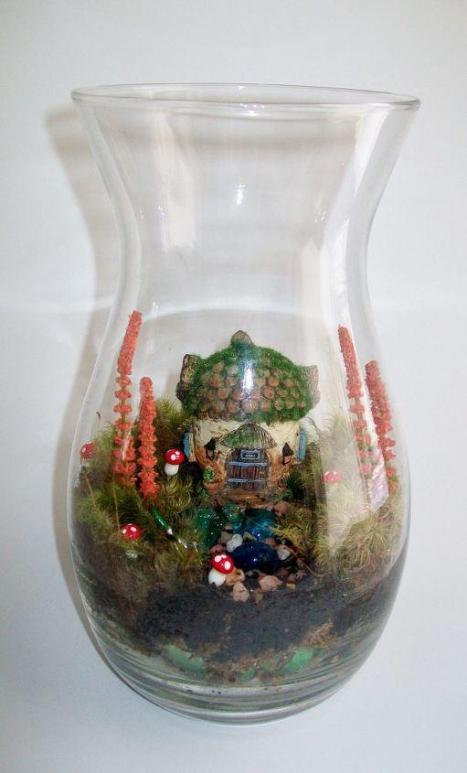 diy miniature fairy garden terrariums crafts gardening terrarium - Fairy Garden Terrarium
