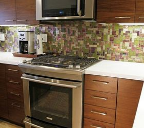 Small Kitchen Remodel With Custom Cabinets, Home Improvement, Kitchen  Cabinets, Kitchen Design