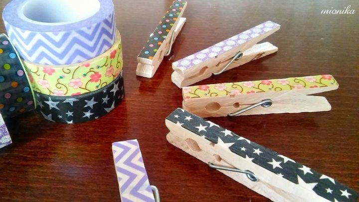 washi tape easter decoration, crafts, easter decorations, seasonal holiday decor