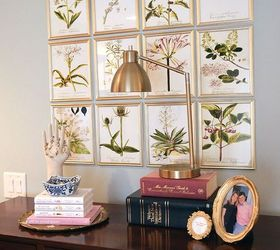Diy Inexpensive Botanical Gallery Wall, Wall Decor