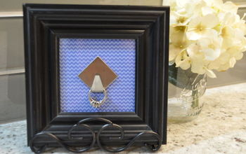 A MUST Have for Every Household: A Cute, Homemade Ring Holder