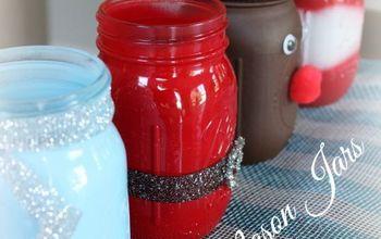 christmas mason jars, christmas decorations, crafts, mason jars, seasonal holiday decor