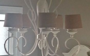 what you can do to an old light fixture with a few changes, crafts, lighting, repurposing upcycling
