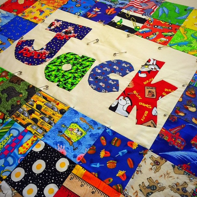 Jack's I Spy Baby Quilt   Hometalk : i spy quilt pattern - Adamdwight.com