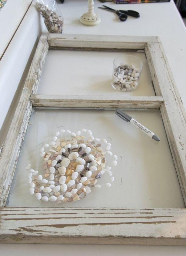 make art upcycled window frame, crafts, repurposing upcycling, wall decor, windows