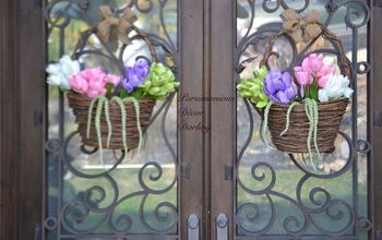 5-Minute Spring Or Easter Door Decor