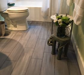 Amazing Flooring Bathroom Ideas Part - 3: Bathroom Floor Tile Or Paint, Bathroom Ideas, Diy, Flooring, Painting