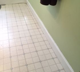 Bathroom Floor Tile Or Paint, Bathroom Ideas, Diy, Flooring, Painting Part 91