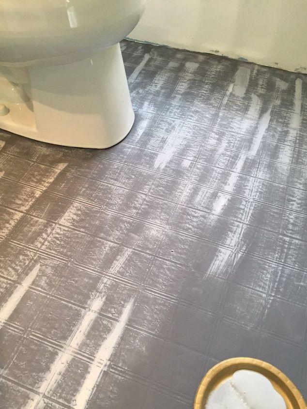 Bathroom Floor Tile Or Paint Hometalk