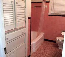 fixer upper bathroom remodel, bathroom ideas, diy, home improvement, tiling