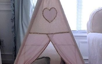 DIY Kids Teepee {Step-by-Step Tutorial}