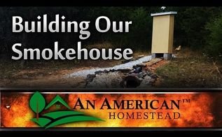 building a smokehouse, diy, how to, outdoor furniture, outdoor living
