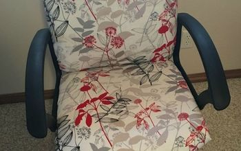 $20 No-Sew Office Chair Makeover