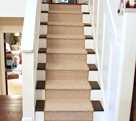 Give Old Stairs A Facelift With A DIY Runner