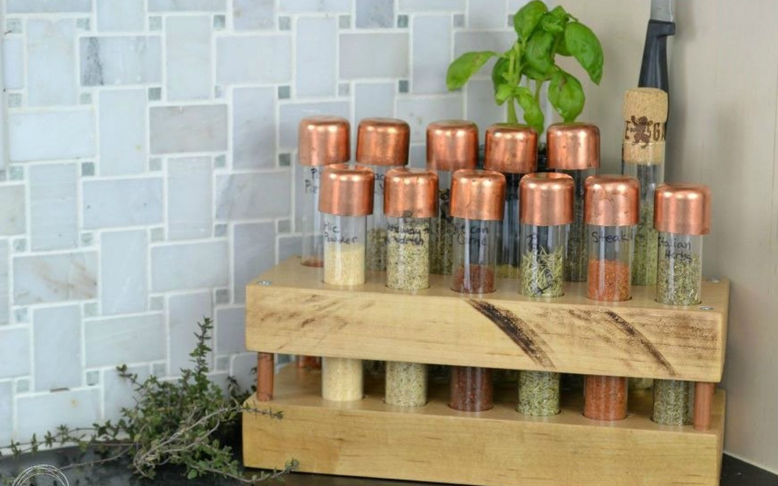 Spruce Up Your Kitchen With These Cabinet Door Styles: 10 Borderline Brilliant Ways To Store Spices (And Save
