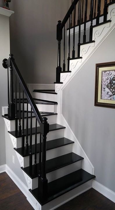 q putting a runner on staircase with turn platform, cosmetic changes, home improvement, stairs, After now need partial centered runner incorporating turn platform steps