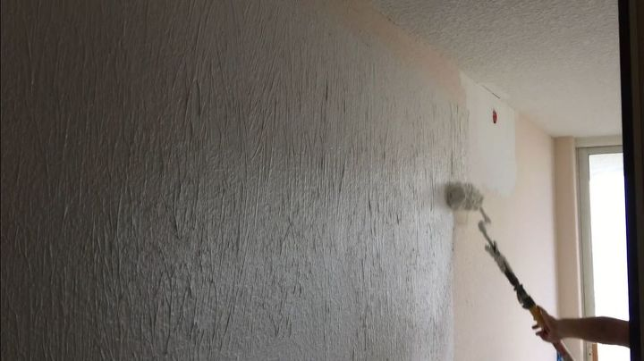 painting plaster wallsHow to Skim Coat Walls Using the Paint Roller Trick  Hometalk