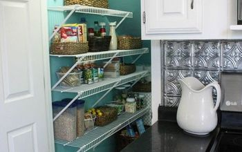 Disaster Zone Pantry Makeover