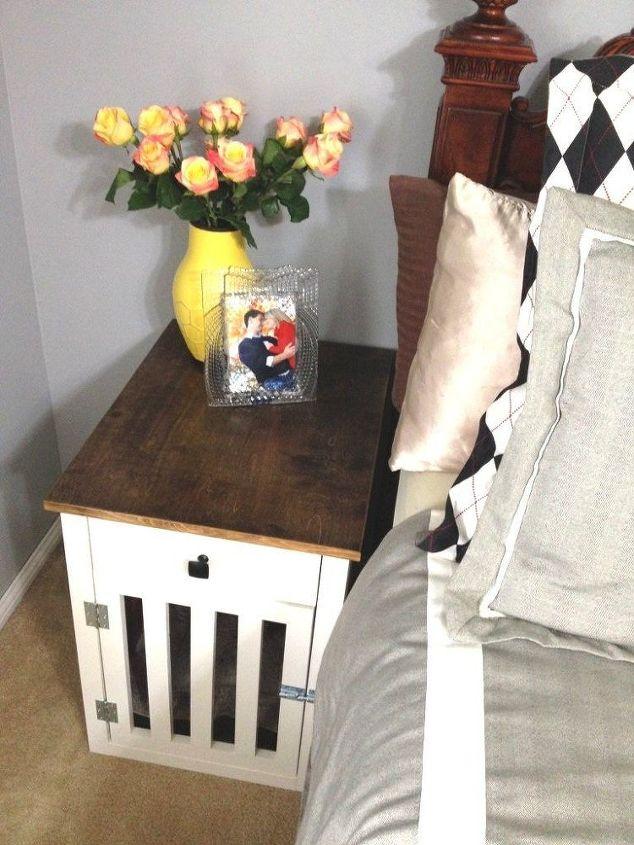 Fresh Going to the Dogs--DIY Dog Crate Nightstands | Hometalk XA84