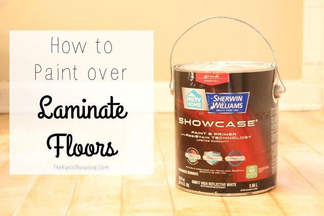 How To Paint Over Laminate Flooring Hometalk