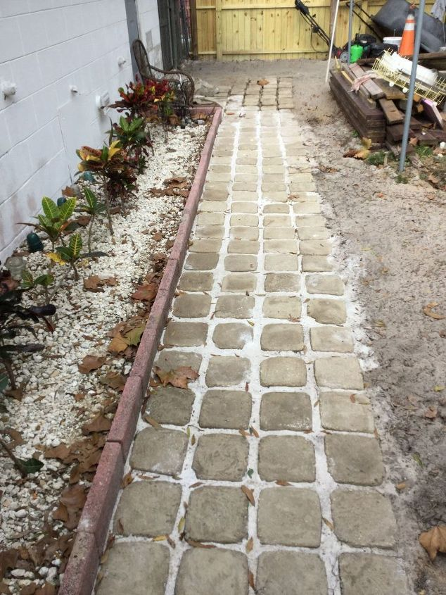 How We Made Stepping Stone Walkway From