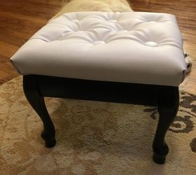 Breathing New Life Into An Old Foot Stool My 30dayflip For March, How To,