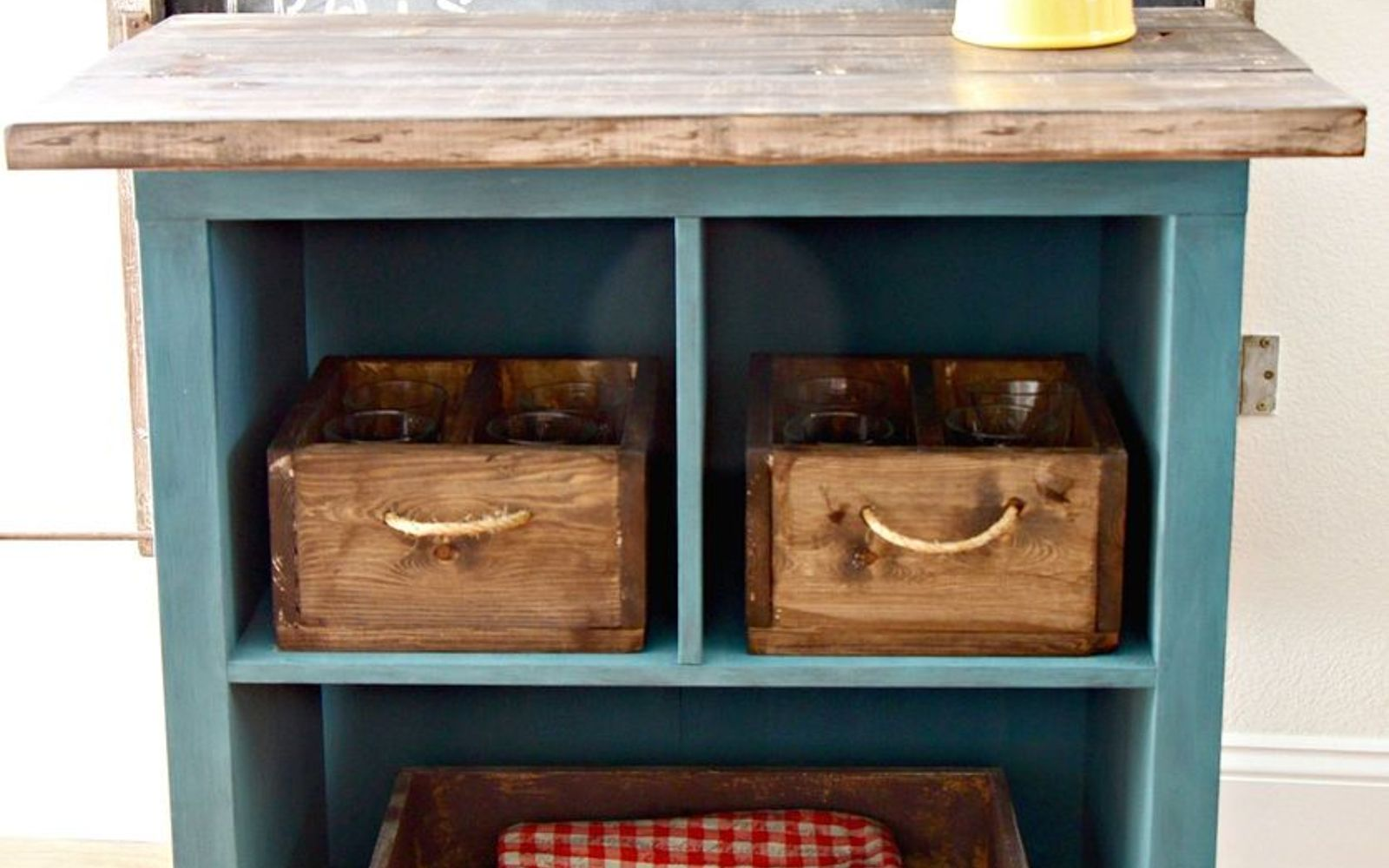 19 incredible kitchen islands made from totally unexpected things