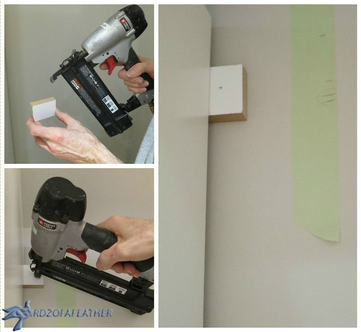 Installing spacers when you have baseboard