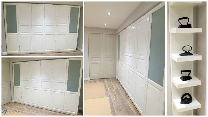 Completed cabinets - before adding interiors