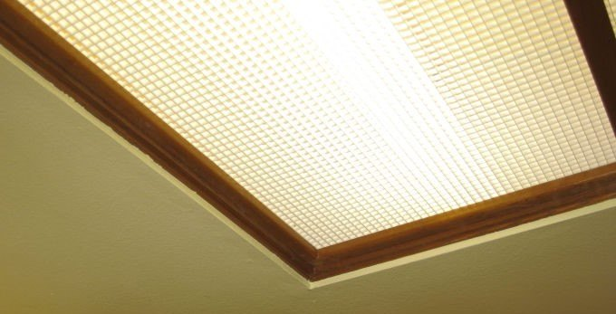 Recessed Box Fluorescent Lighting