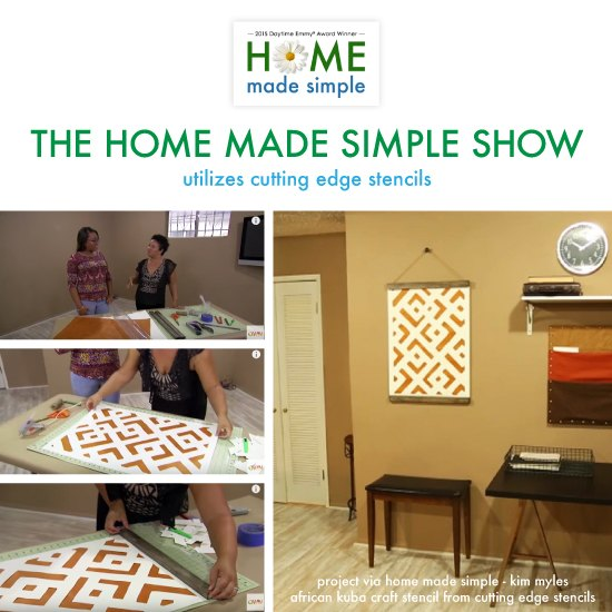 How To Make DIY Cut Out Wall Art Using Stencils | Hometalk