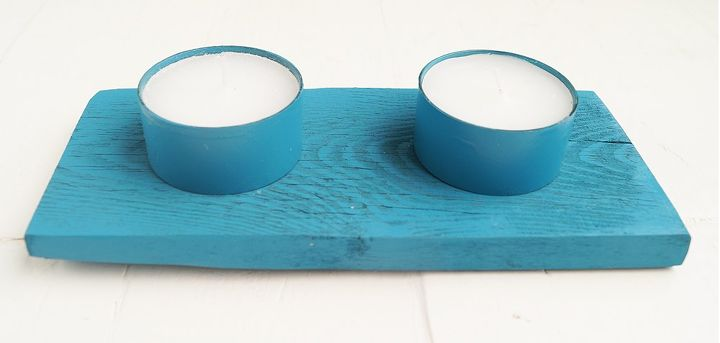 pallet candleholders, crafts, how to, pallet