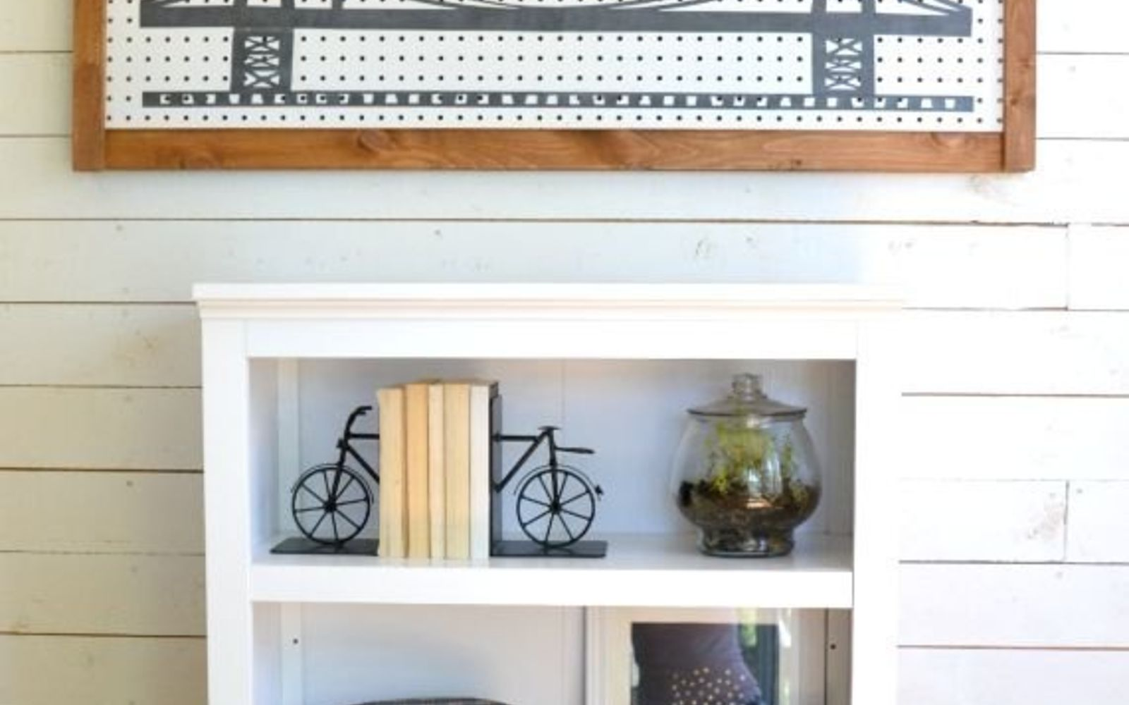 s 15 ways to organize every messy nook with pegboard, organizing, woodworking projects, Make a versatile storage board for odd jobs
