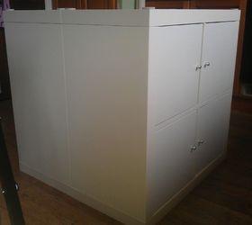Kitchen Island With Ikea Expedit Bookshelves, Kitchen Design, Repurposing  Upcycling, Shelving Ideas,
