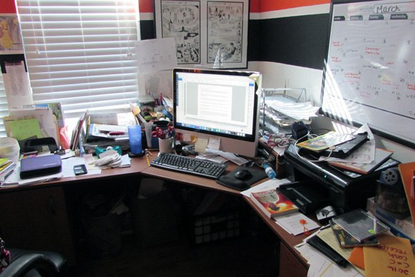 Organizing The Desk Of Disaster Cleaning Tips Home Office