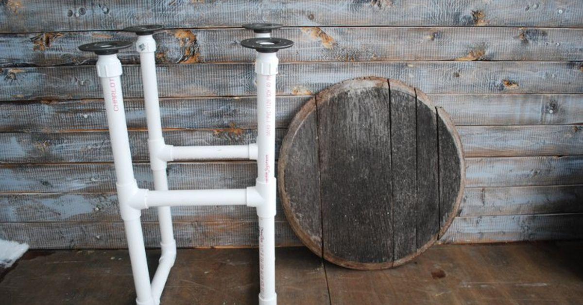 Diy Pvc Pipe Table Hometalk