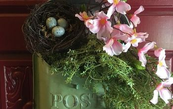 8 Ways to Style a Vintage Mailbox or Postal Tin