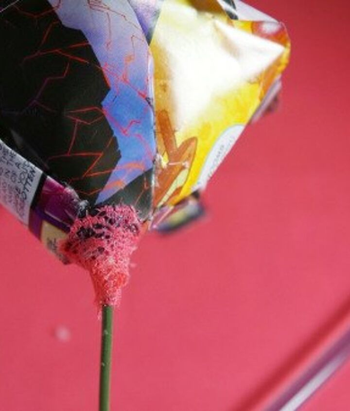 comic book flower, crafts, how to